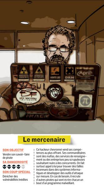 Image de l'encart sur le mercenaire