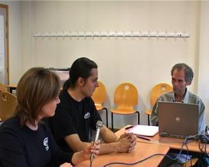 Entretien avec Frédéric Couchet et Alix Cazenave lors des JDLL de Lyon