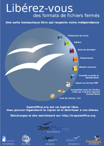 Promotion poster about OpenOffice.org