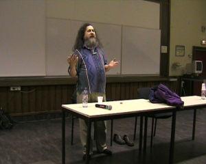 Conférence de Richard Stallman à l'ENST de Paris