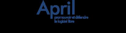 logo de l'April pour les 20 ans