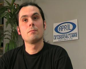 Frédéric Couchet, délégué général de l'association April, se présente