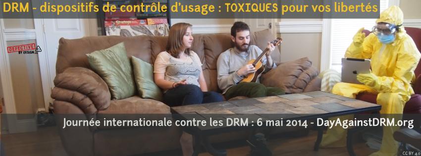 DRM: toxiques pour vos libertés