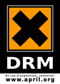 sticker DRM