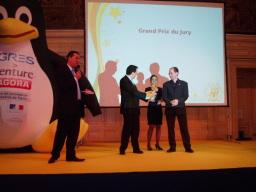 photo miniature de la remise du prix