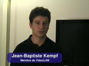 Présentation de VideoLAN par Jean Baptiste Kempf