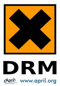 Panneau Danger DRM
