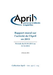 Page De Couverture Du Rapport Moral 2013