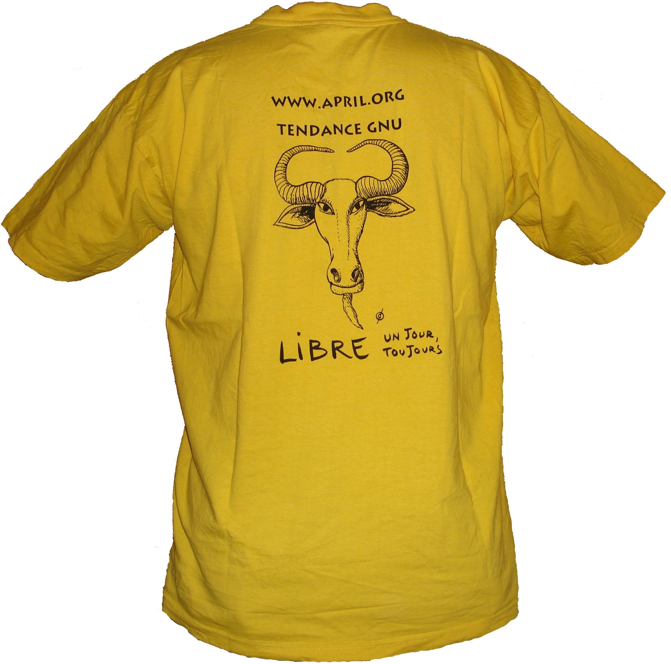 T-shirt 2 de dos