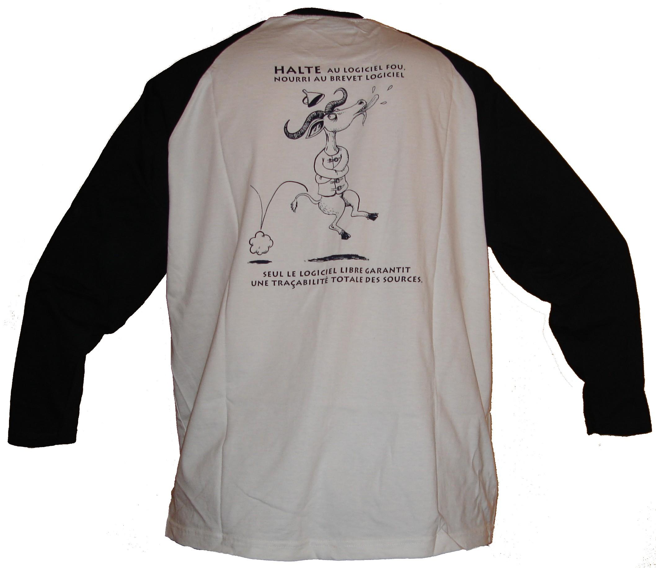 T-shirt 3 de dos