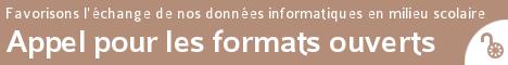 Signez dès maintenant l'appel pour les formats ouverts dans l'Éducation nationale
