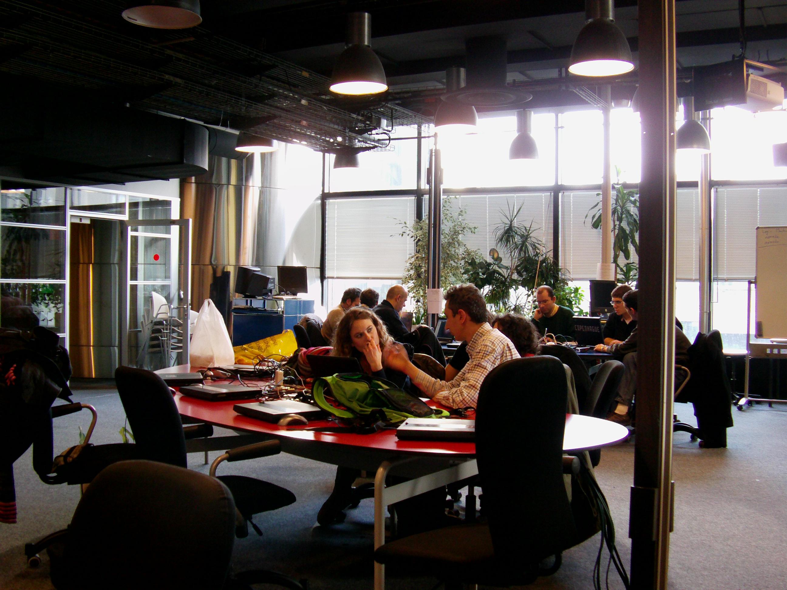 Atelier lors du BarCamp