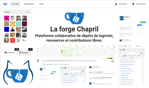 Service forge.chapril.org