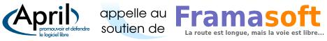 Image illustrant le soutien de l April a la campagne de dons de Framasoft