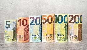 Série Europe complète des billets en euro- Wikimedia Commons