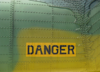 Photo panneau danger