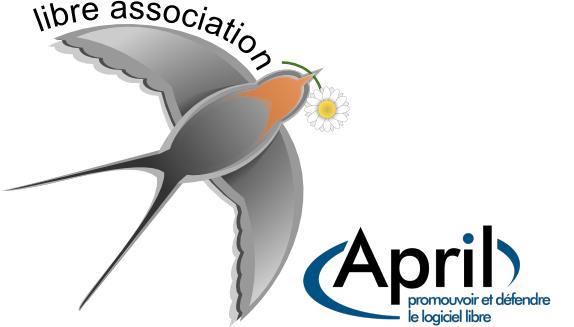 logo libre association avec le logo de l